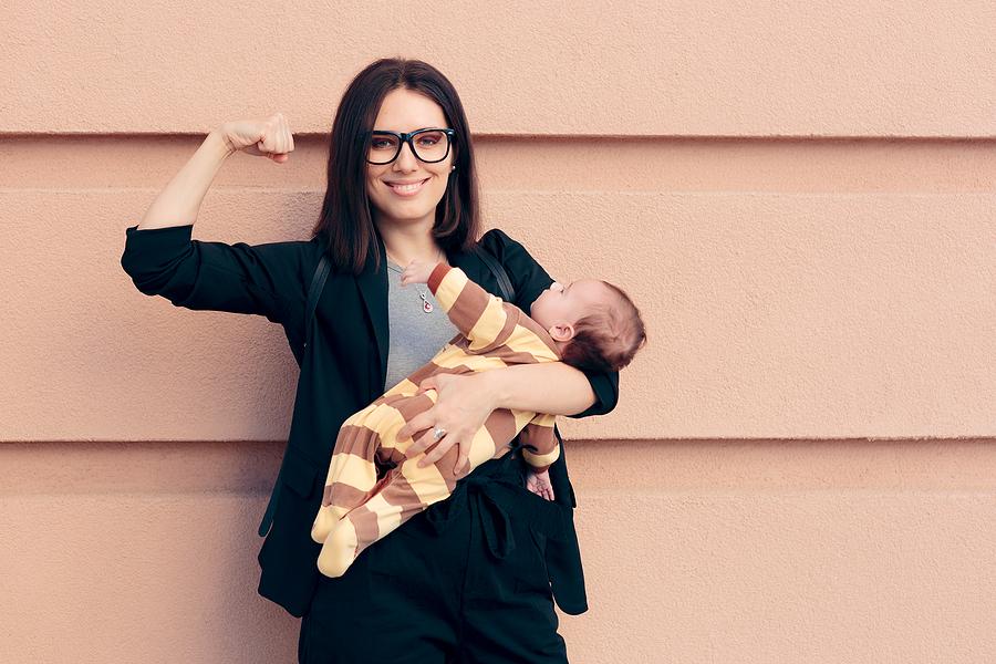 Mutter-Job-Vertrieb